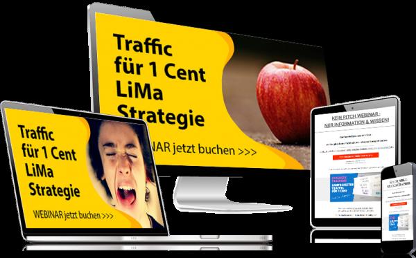 LIMA Strategie - Traffic für 1 Cent